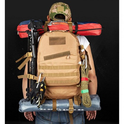 3D Tactical Hiking 40 Litre Backpack(DW)