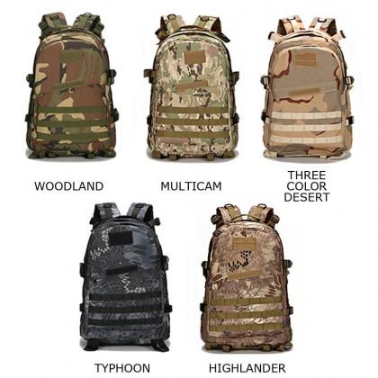 3D Tactical Hiking 40 Litre Backpack(MC)