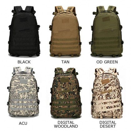 3D Tactical Hiking 40 Litre Backpack(HL)