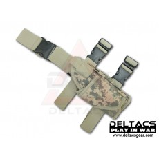 Deltacs Tornado Universal Tactical Thigh / Drop Leg Holster - ACU