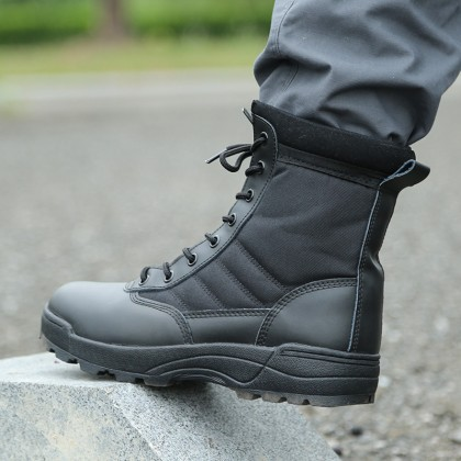 Combat Swat Army Military Hiking Tactical Boots Kasut Operasi