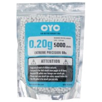 CYC 0.20g 6mm High Precision BB Pellet 5000pcs