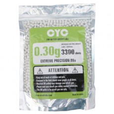 CYC 0.30g 6mm High Precision BB  Pellet 3300pcs