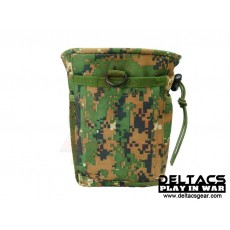 Deltacs MOLLE Magazine Drop Pouch - Digital Woodland