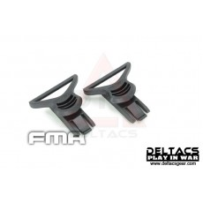 FMA Goggle Swivel Clips (Model C 36mm) - Black