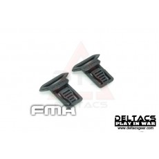 FMA Goggle Swivel Clips Set (Model A 15mm) - Black