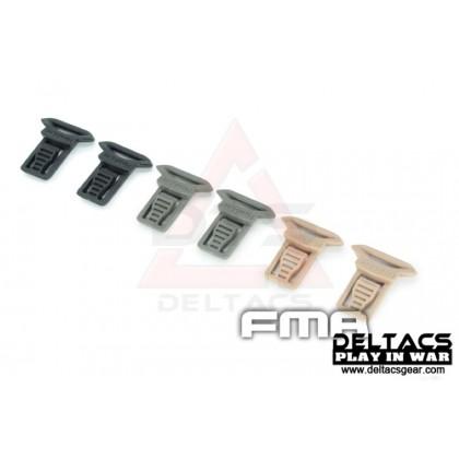 FMA Goggle Swivel Clips Set (Model A 15mm) - Dark Earth