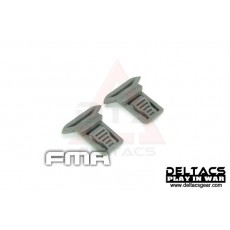 FMA Goggle Swivel Clips Set (Model A 15mm) - Foliage Green