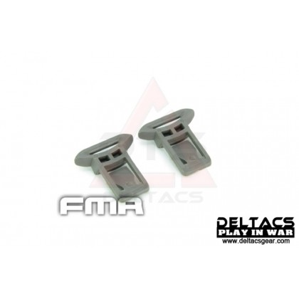 FMA Goggle Swivel Clips Set (Model A 15mm) - Foliage Green