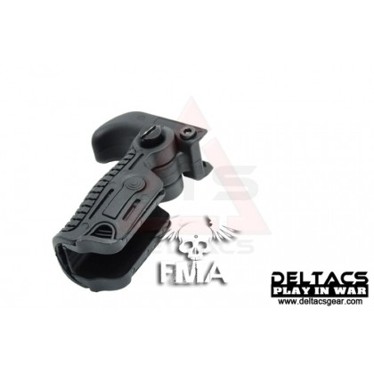 FMA AABB AB163 Foldable Grip - Black