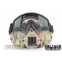 FMA SI-Ballistic Goggle for Helmet - Black