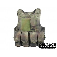 Deltacs FSBE Tactical Vest with Pouches - Atacs