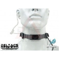 Z-Tactical Tactical Throat Microphone with Earpiece Set (Z033) - Foliage Green