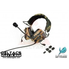 Z-Tactical zComtac IV In-The-Ear Headset (Z038) - Dark Earth