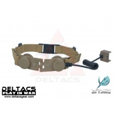 Z-Tactical Throat Mic for Z 029 Bowman EVO III Headset (Z045) - Dark Earth