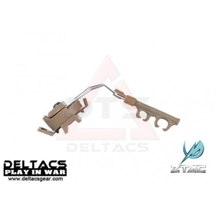Z-Tactical Helmet Rail Adapter Set For COMTAC I And COMTAC II (Z046) - Dark Earth
