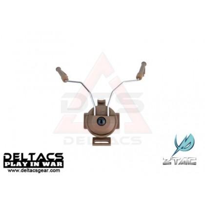 Z-Tactical Helmet Rail Adapter Set For COMTAC I And COMTAC II (Z046) - Dark Earth