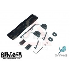 Z-Tactical Helmet Rail Adapter Set For COMTAC I And COMTAC II (Z046) - Foliage Green
