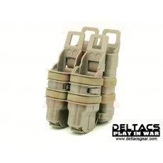 FMA FastMag Friction Pistol & 5.56mm Magazine Holder set - Dark Earth