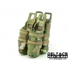 FMA FastMag Friction Pistol & 5.56mm Magazine Holder set - Multicam
