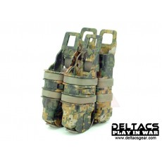 FMA FastMag Friction Pistol & 5.56mm Magazine Holder set - Digital Woodland
