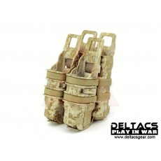 FMA FastMag Friction Pistol & 5.56mm Magazine Holder set - Digital Desert