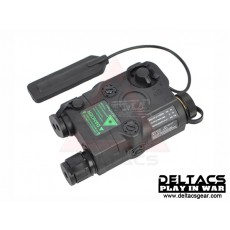 FMA AN/PEQ 15 Green Laser and Flashlight Aiming Device - Black