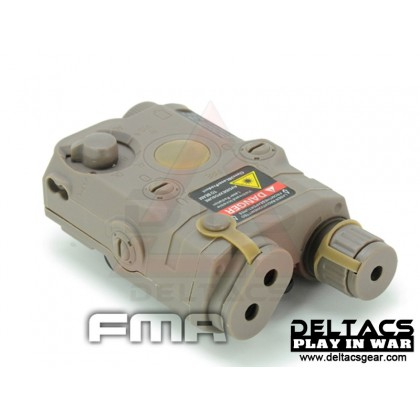 FMA AN/PEQ 15 Battery Case - Dark Earth