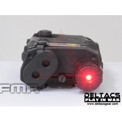 FMA AN/PEQ 15 Red Laser Battery Case - Black