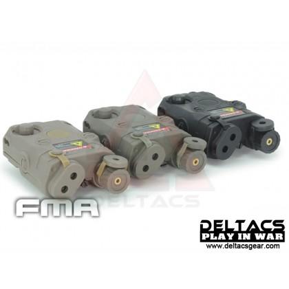 FMA AN/PEQ 15 Red Laser Battery Case - Dark Earth
