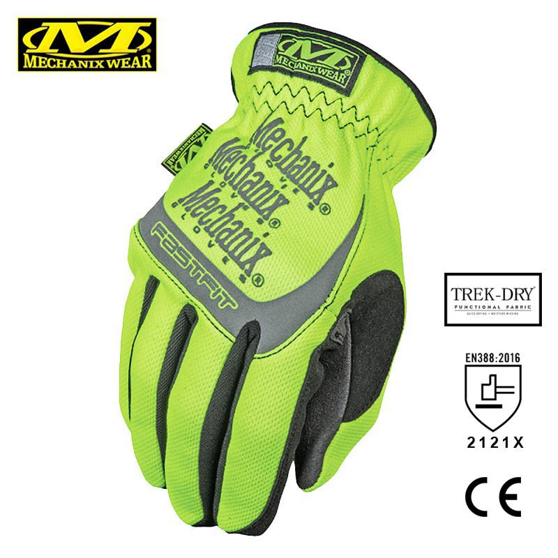 Mechanix Wear FastFit Glove Hi-Viz Safety Series